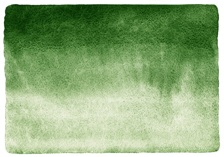 uneven edge: Dark green watercolor background. Gradient fill. Deep-green  watercolour texture. Nature, eco template. Rough, uneven edges and rounded corners.