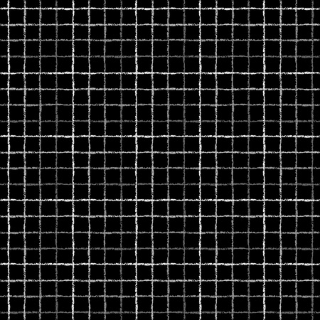 argent: Silver check, square, plaid seamless pattern.