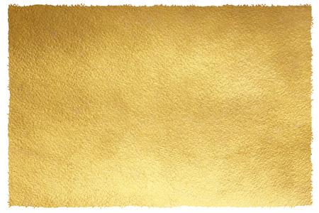 Goldener Hintergrund mit unebenen, Pinsel gezogenen Kanten. Goldbeschaffenheit. Luxuriöse Papiervorlage für Ihr Design. Standard-Bild - 60182454