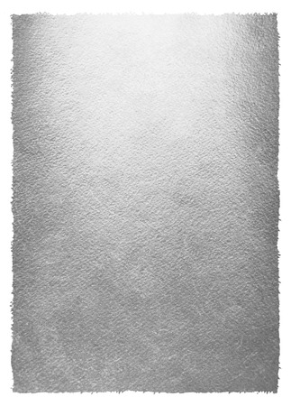 metal monochrome: Silver or metal background with uneven, rough edge. Iron texture. Steel paper template for your design. Silver foil monochrome background. Industrial texture.