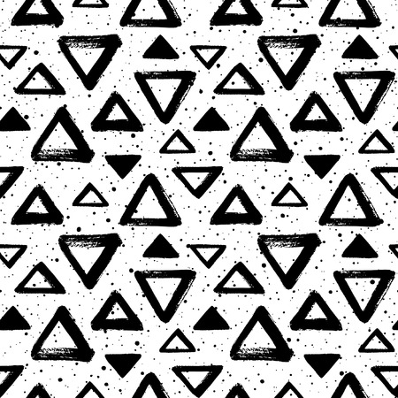 speck: Black and white geometric background with spray, blobs, specks, dots.