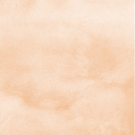 Natural, rose beige watercolor background with stains. Human skin, foundation color painted watercolor texture. Pastel, soft, light brown aquarelle template for banners, posters. 写真素材