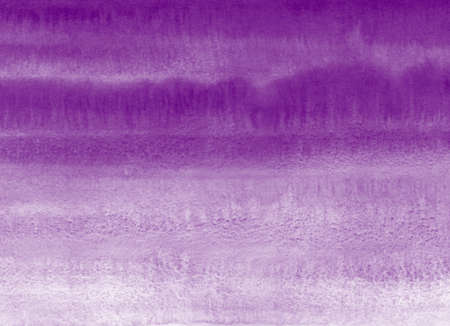 Dark violet, plum purple watercolor hand drawn textured background with gradient artistic stains. Painted watercolour texture. Brush drawn aquarelle rectangle template for cards, banners, lettering.