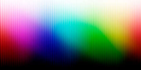 viewable colors frequencies. abstract wave of rainbow color. Stock fotó