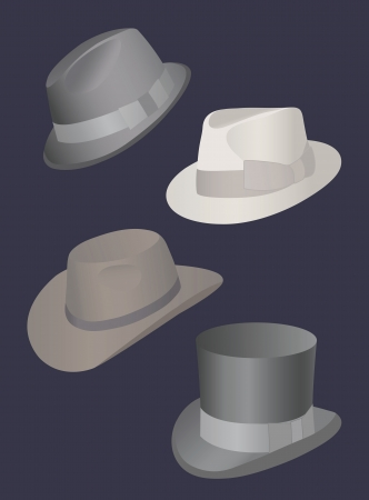 playboy: Set of hats for men