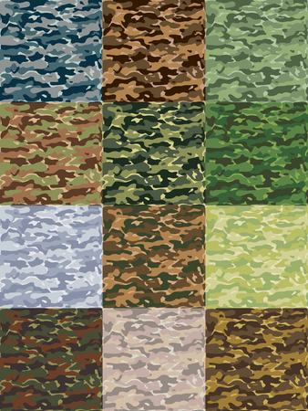 disappear: Seamless camouflage pattern can be used for graphic design, textile design or web design.