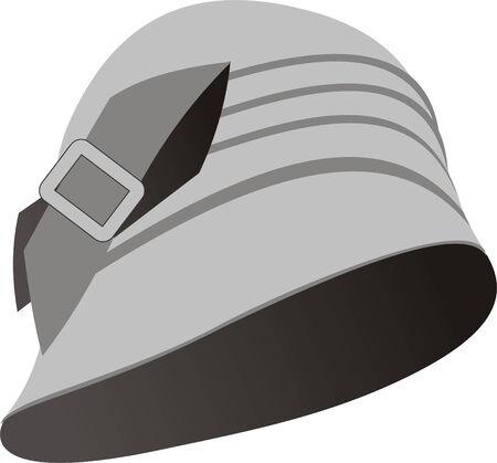headwear: grey hat for rainy day headwear