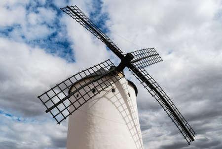 Windmill in Campo de Criptana. Castilla la Mancha. Spain.