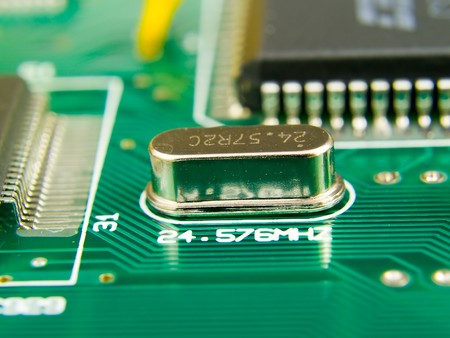 micro drive: Macro image of circuit board. This image is a nice background image for print material related to computer technology. On the quartz it is possible to create the image, a trade mark or the text.