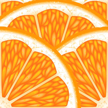 fruited: Background of the pieces of orange.