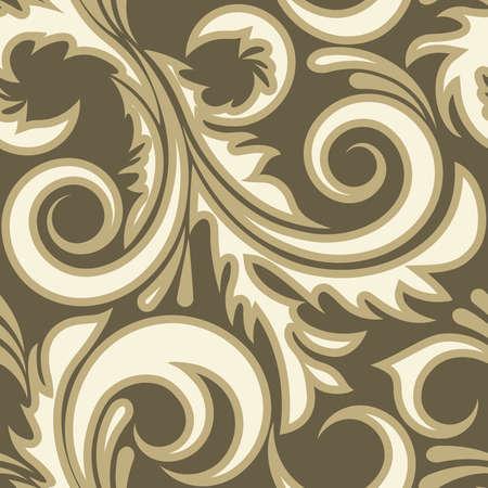 effortless: Sin fisuras de la planta de color beige (puede repetirse y ampliarse en cualquier tama�o)