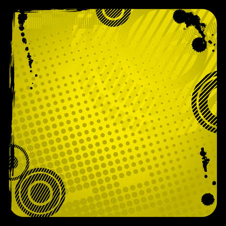 Grunge  background with black frame from dirty Vector