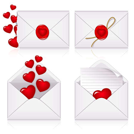 Set from  envelopes to the St.Valentine Vector