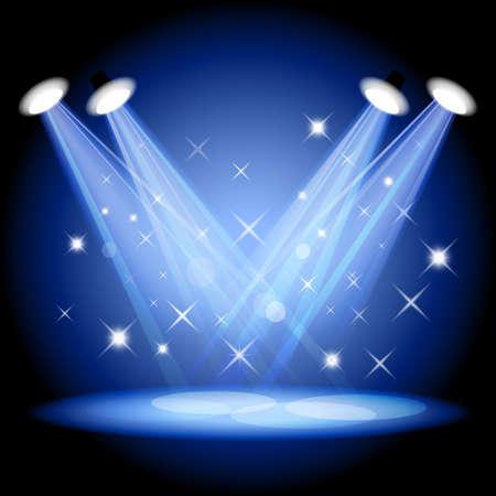 Stage light Mesh-EPS10 Diese Datei enthält Transparenz