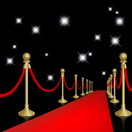 hallway: Red carpet
