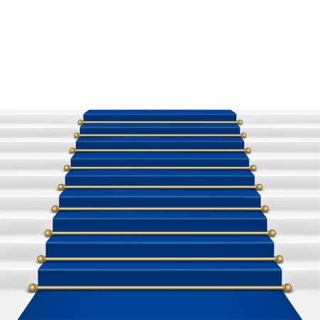 blue carpet: Blue  carpet with ladder  Mesh