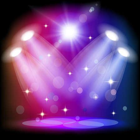 lighting equipment: Stage light.