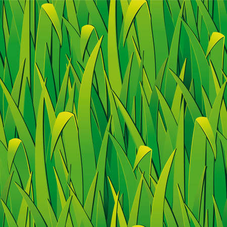 Seamless pattern from  green grass.  Clipping Mask. (can be repeated and scaled in any size)