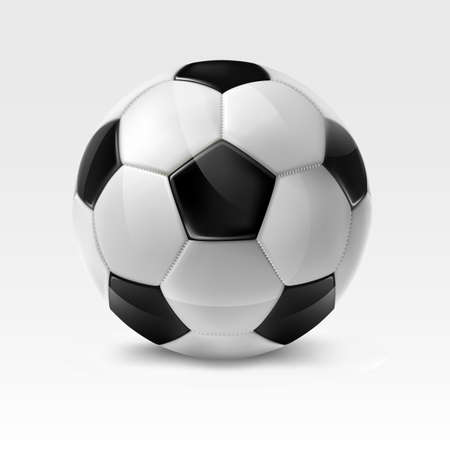 Soccer ball.Mesh.This file contains transparency. Ilustracja