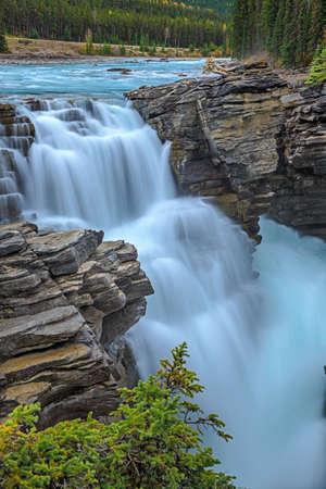Athabasca River Falls