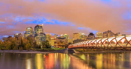 Calgary at night