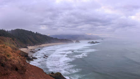 state of oregon: Ecola State Park, Oregon Coast Stock Photo