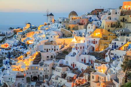Santorini is a island in Aegean Sea