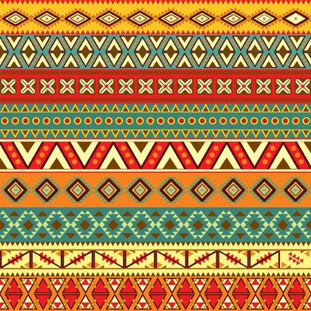 этнический: Различные мотивы полос в разные цвета