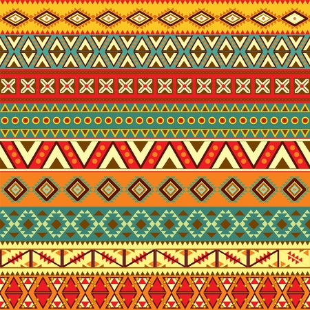 tribal: Divers motifs de bandes de couleur diff�rente