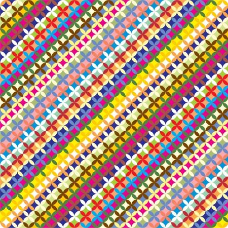 Colorfull geometric pattern  Summer background  Illustration