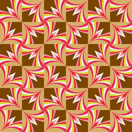 Seamless background with pink and brown