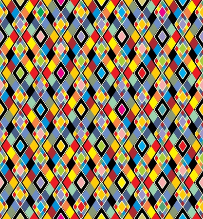 Colorful background. Seamless pattern. Vector