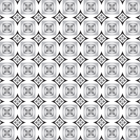 Abstract background in black and white squares design.  Vector