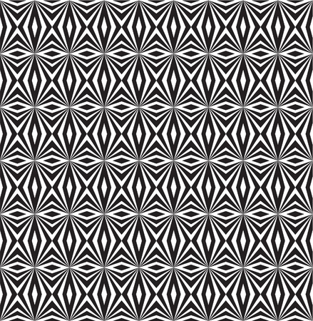 Optical illusion in zigzag pattern Vector