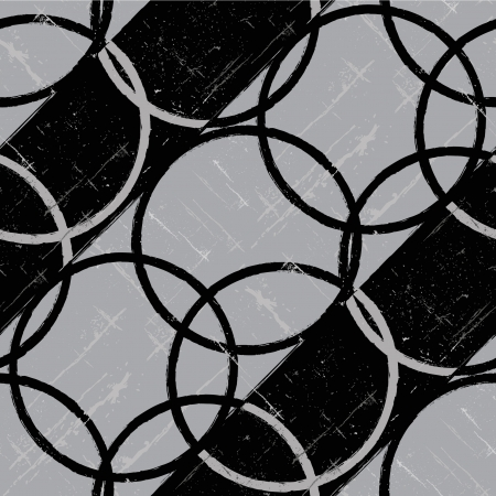 optical image: Abstract seamless circle background. Vecto illustration.