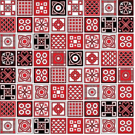 arabesco: conjunto de Lisboa modelos de cerámica Vectores