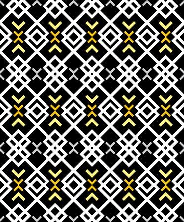 물결: 지그재그 패턴 - 검은 색과 흰색 배경