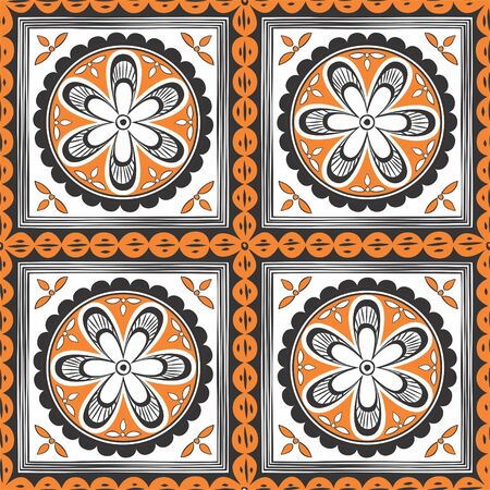 decorative wallpaper: Seamless ethnic pattern. Decorative ornament for fabric, textile, wrapping paper, card, invitation, wallpaper, web design;