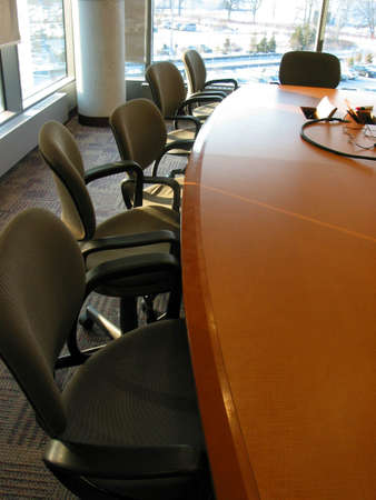 Business meeting or conference room photo