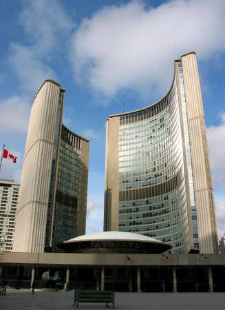 New Toronto city hall, downtown