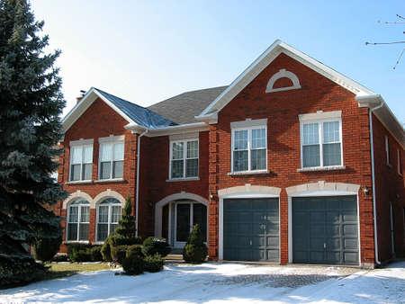 luxury house: New luxury brick house