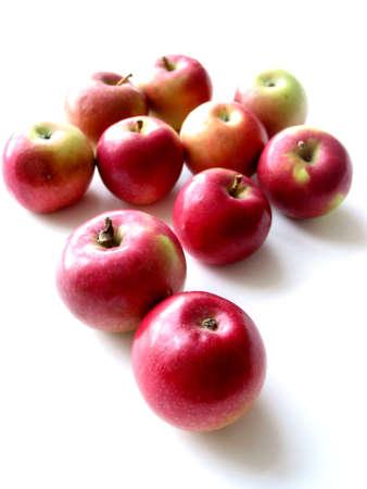 apples on white background Фото со стока