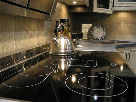 Interior of modern kitchen Stock Photo - 366600