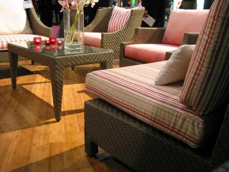 Living room furniture on display Stock Photo - 367477