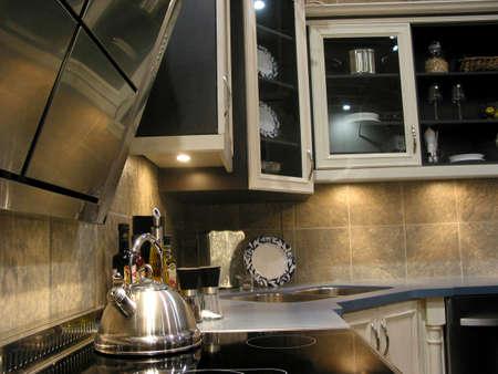 Interior of a modern kitchen Stock Photo - 367470