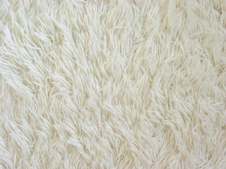 Texture of white fuzzy carpet Stock Photo - 375192
