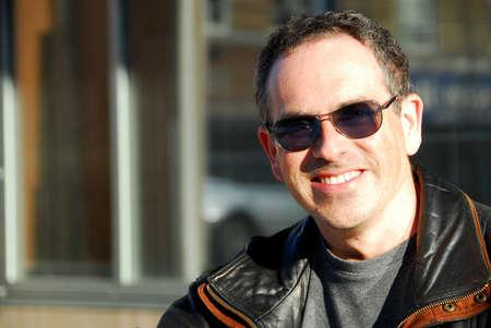 Smiling man in sunglasses Stock Photo - 375157