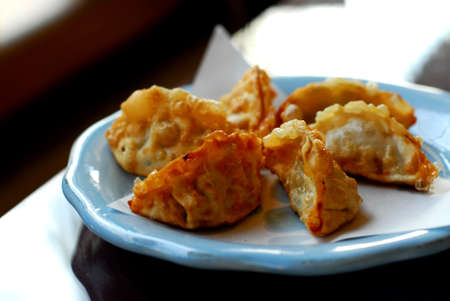 Deep fried dumplings