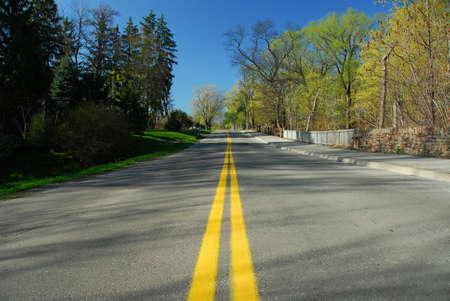 Empty country road Stock Photo - 422464