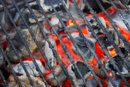 grid background: Barbecue grid background